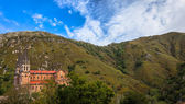 Basilica In The Mountains — Stock Photo