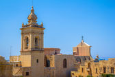 Gozo Cathedral Side — Stock Photo