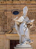 St Augustine Statue — Stock Photo