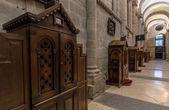 Santiago Cathedral Confessional — Zdjęcie stockowe