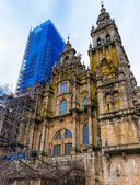 Santiago Cathedral Facade — Zdjęcie stockowe