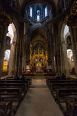 Santiago Cathedral Altar — Stock Photo