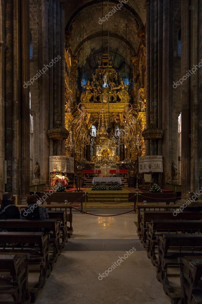 Int rieur cath drale de santiago photo 39796947 for Afbeeldingen interieur