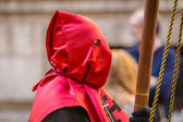 Red Nazareno Head — Stock Photo