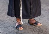 Nazareno Feet — Stock Photo