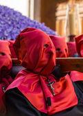 Red Nazareno Cross — Stock Photo