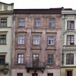 Antique buildings in Lvov — Stock Photo