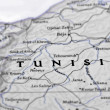 Antique map of Tunisia — Stock Photo