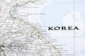 Antique map of Korea — Stock Photo