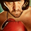Royalty-Free Stock Photo: Man with boxing gloves