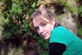 Girl portrait — Stock Photo