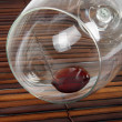 Foto Stock: Wine glass