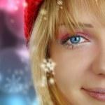 Christmas girl — Stock Photo #14829523