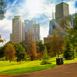 Stock Photo: City park