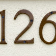 House numbers — Stock Photo