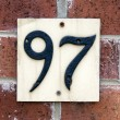 House numbers — Stock Photo #41369117