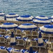 Colorful beach umbrellas — Stockfoto #15612963