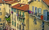 Houses in Nice — Stock Photo