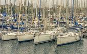 Jachtów i łodzi w marinie — Zdjęcie stockowe