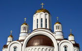 The temple in the northern region, Voronezh, Russia — Stock Photo
