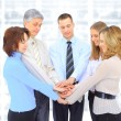 A group of business in the office. — Stock Photo #18650891