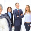 A group of business in the office. — Stock Photo