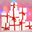 The mountain of gifts — Stockfoto