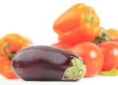 красочные овощной кадр — Стоковое фото