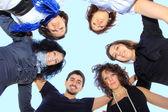 Grupo de estudiantes felices. — Foto de Stock