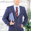 Young business in the office. — Stock Photo