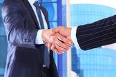 Affaires et négociation d'affaires — Photo