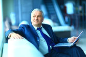 Businessman in the office. — Stock Photo