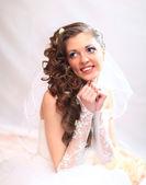 Young attractive bride. — Stock Photo