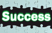 "Abstraction with the inscription ""Success"" — Stock Photo"