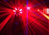 Disco. Laser-show. — Stockfoto