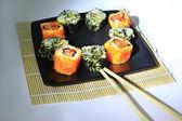传统的日本料理寿司 — 图库照片