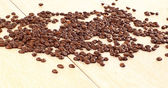 Natural grain of coffee. — Stock Photo