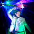 Cool nightclub party dj portrait — Stock Photo #35595377