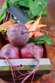Red beets and carrots — Stock Photo