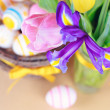 Stock Photo: Spring flowers close up