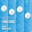 Christmas sale — Vector de stock #35155345