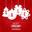 Christmas sale — Image vectorielle