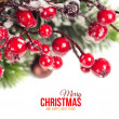 Christmas background — Stock Photo #36004981