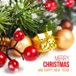 Merry Christmas Decoration — Stockfoto