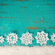 Stock Photo: Christmas background with snowflakes