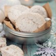 Homemade cookies for Christmas — Stock Photo