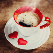 Morning coffee for a loved one. — Stock Photo #40230229