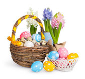 Colorful Easter eggs. — Stock Photo