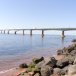 Confederation bridge  PEI — Stock Photo