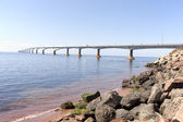Confederation bridge PEI — Stock Photo